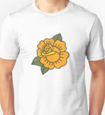 rose. traditional tattoo flash Unisex T-Shirt