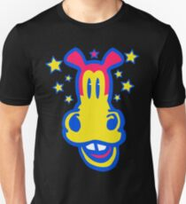 Smiling Cartoon Horse by Cheerful Madness  Unisex T-Shirt