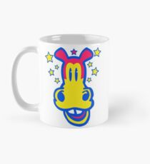 Smiling Cartoon Horse by Cheerful Madness  Mug