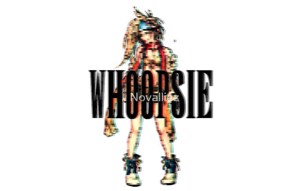 Whoopsie! Rikku by Novalliez