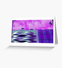 Barcelona architecture Greeting Card