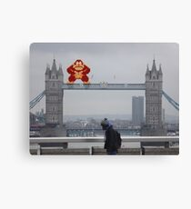 Donkey Kong In London Canvas Print