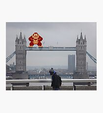 Donkey Kong In London Photographic Print
