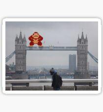 Donkey Kong In London Sticker