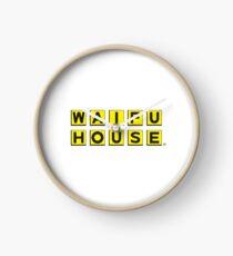 Waifu House Clock