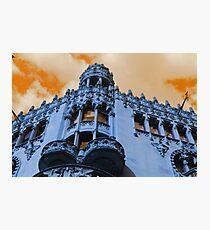 Architecture Barcelona Photographic Print