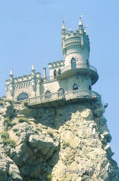 Yalta Castle by Pamela Murdock