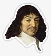 René Descartes Sticker
