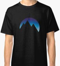 Minimalistic Mountain Peaks Classic T-Shirt