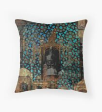 Mosques and Temples Throw Pillow