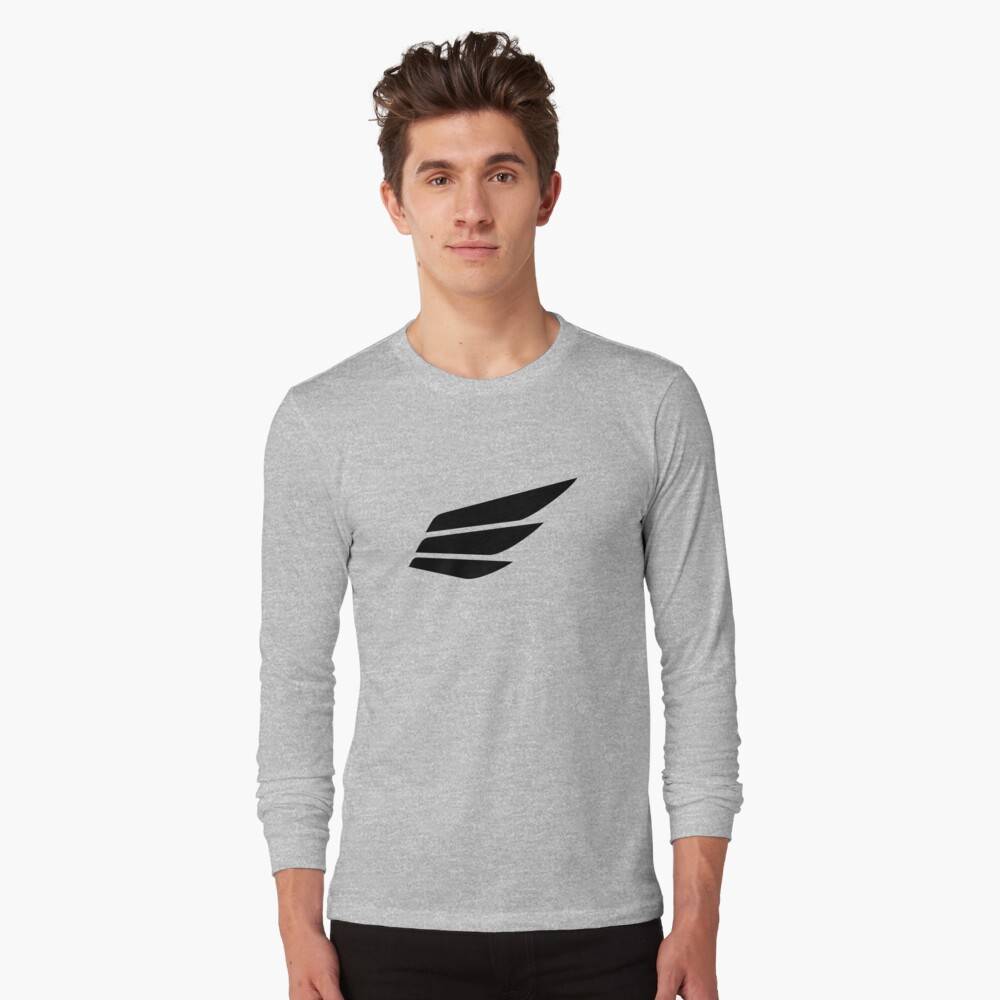 Fast Lean Fit® Logo Long Sleeve T-Shirt Front