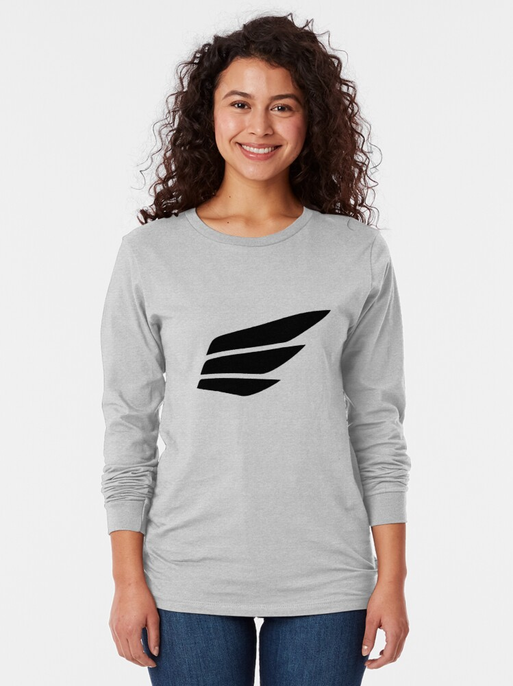 Alternate view of Fast Lean Fit® Logo Long Sleeve T-Shirt