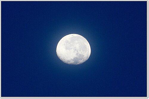 morning moon by Jelynn