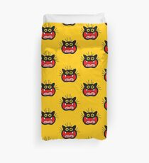 Crazy Cat by Cheerful Madness!! Duvet Cover