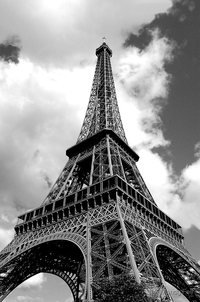 Eiffel Tower by Mandy Fell