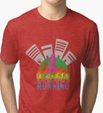 Urban Running Lunch Time Tri-blend T-Shirt