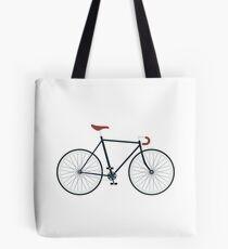 Fixie, Fixed Gear, Biking Cycler Tote Bag