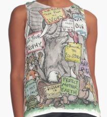 Animals March on DC Contrast Tank