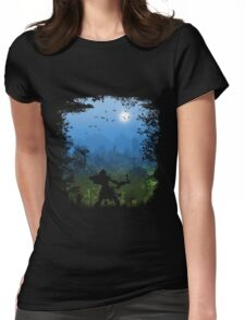 Unexplored World Womens Fitted T-Shirt