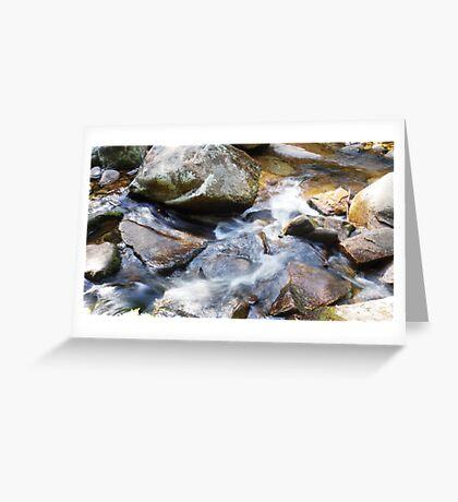 Rocking the Water Greeting Card