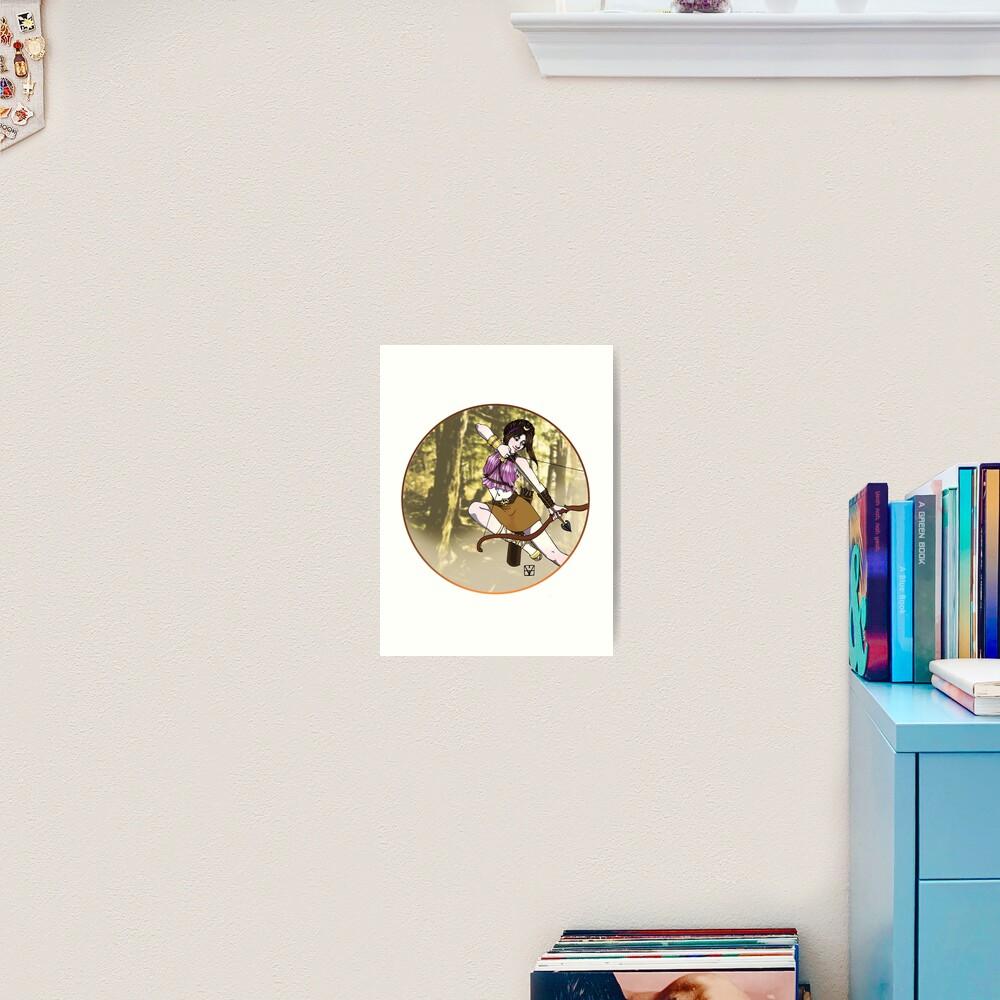 Artemis, Goddess of the Hunt Art Print