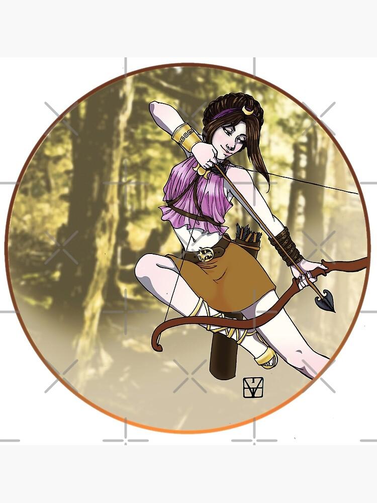Artemis, Goddess of the Hunt by MaeganCook