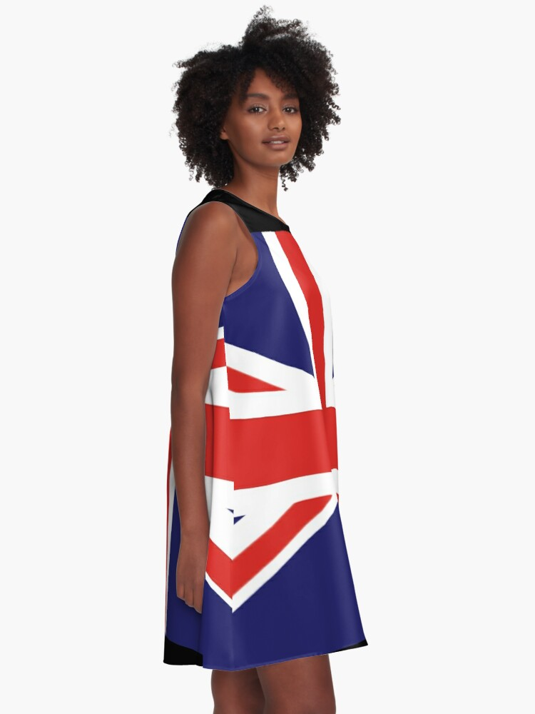 Alternate view of Union Jack A-Line Dress