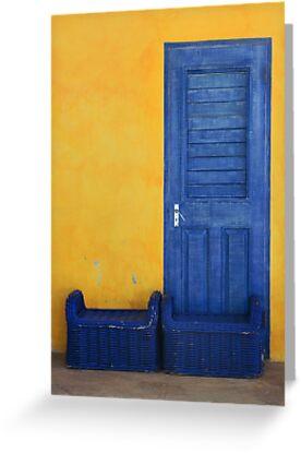 Blue Door by David Librach - DL Photography -