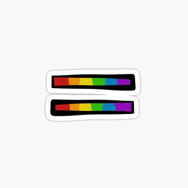 Equal Sticker