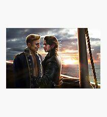 Pirate Love Photographic Print