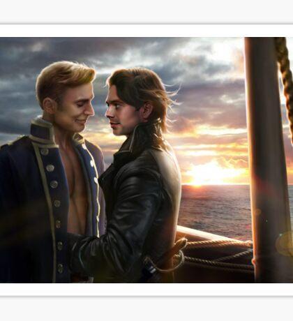 Pirate Love Sticker