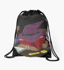 Witch Life Drawstring Bag