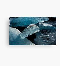 Ice Sand Snow Canvas Print