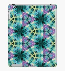 Psychedelic Geometric triangle print iPad Case/Skin