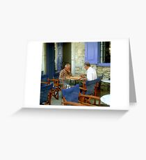 Greek Concentration Greeting Card