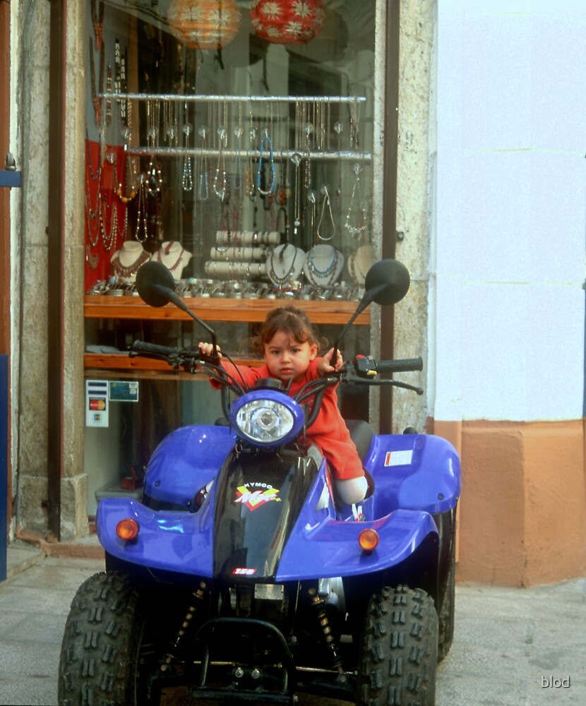 Young Biker by blod