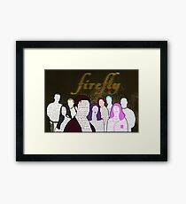 Firefly and Serenity Character Quotes Framed Print