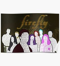 Firefly and Serenity Character Quotes Poster