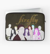 Firefly and Serenity Character Quotes Laptop Sleeve