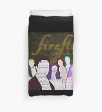 Firefly and Serenity Character Quotes Duvet Cover