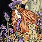 «Amatista y Violeta» de Anita Inverarity