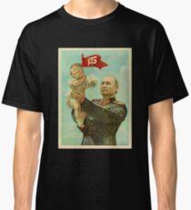BABY TRUMP WITH PUTIN Classic T-Shirt