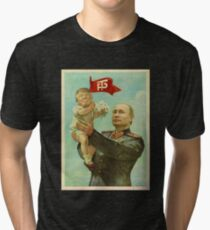 Camiseta de tejido mixto BABY TRUMP WITH PUTIN