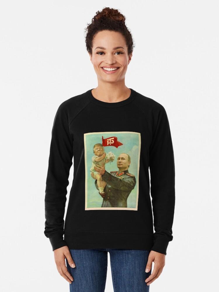 Alternative Ansicht von BABYTRUMPF MIT PUTIN Leichter Pullover