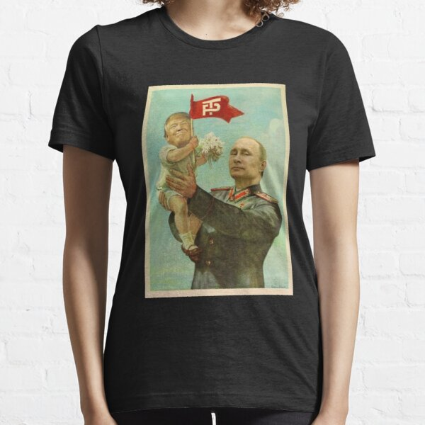 BABY TRUMP WITH PUTIN Essential T-Shirt