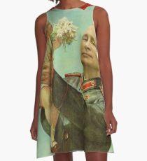 BABYTRUMPF MIT PUTIN A-Linien Kleid