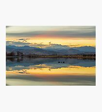 Marvelous McCall Lake Reflections Photographic Print