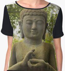 Stone Buddha Chiffon Top
