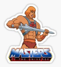 Masters Of The Universe - Logo - Clean Sticker