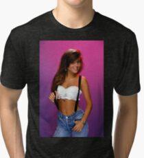 Kelly Kapowski - Saved By The Bell - 90s Shirt Tri-blend T-Shirt